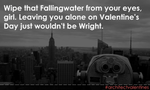 #architectvalentines courtesy of Coffe with an Architect