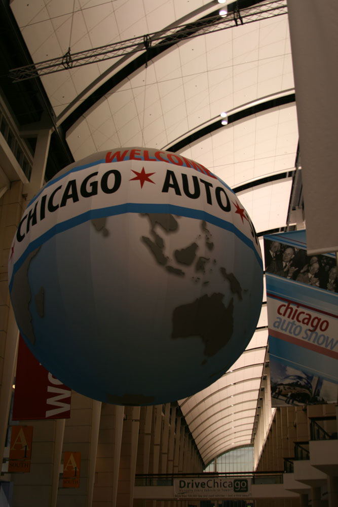 Auto Show Globe