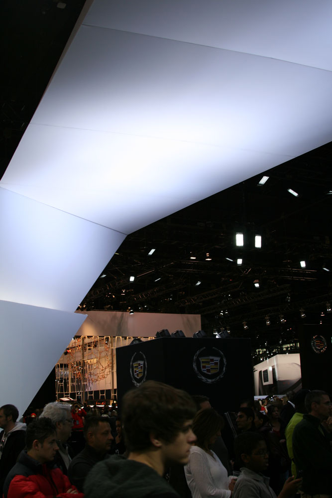 Underside of Cadillac Booth
